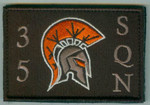 35 Sqn Patch rectangle