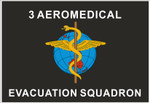 3AMES Sqn Uniform Patch Rectangle
