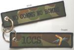 1CCS - NO COMS NO BOMBS Key Tag / Bag Tag