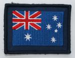 Aust Flag on GPU Patch 75mm x 55mm