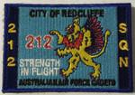 212Sqn Rectangle Uniform Patch