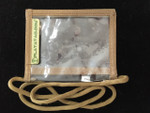 Platatac Clear ID Holder Khaki
