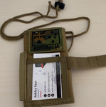 Notebook / ID Holder - Khaki