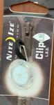 Nite Ize Clip Lit LED Keyring Light White