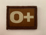 O + Blood Group Patch
