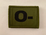 O - Blood Group Patch