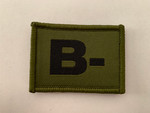 B - Blood Group Patch