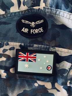 *NEW STOCK *  PVC GPU Ensign (General Purpose Uniform) RAAF   - velcro included in price   - easy to maintain and keep clean    - Approved to wear