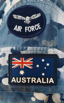*NEW STOCK *  PVC GPU ANF(General Purpose Uniform) RAAF   - velcro included in price   - easy to maintain and keep clean    - Approved to wear