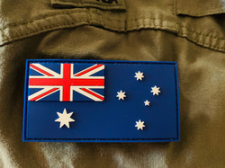 *NEW STOCK *  PVC ANF - Australian National Flag    - velcro included in price   - easy to maintain and keep clean    - Approved to wear