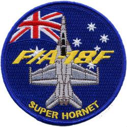 F/A-18F Super Hornet Fighter Uniform Patch