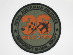 36 Sqn RAAF Global Air Lift Uniform Patch