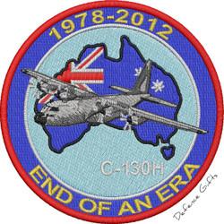 C-130H UNIFORM PATCH 1978 - 2012