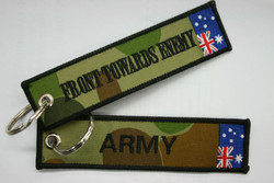 ARMY - FRONT TOWARDS ENEMY - Key Tag