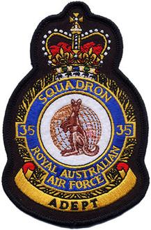 35 Squadron Uniform Crest