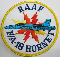 RAAF - F/A-18 Hornet Lightning Patch