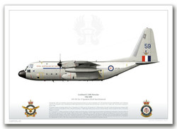 Quality Print A97-159, No. 37 Squadron, RAAF Base Richmond by Juanita Franzi