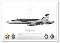 F/A-18A A21-38, No. 75 Squadron, RAAF Base Tindal by Juanita Franzi