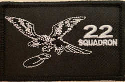 22 sqn Patch rectangle