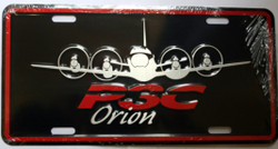P3-C  - ORION - Number Plate by Lockheed Martin