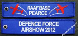 RAAF BASE PEARCE AIR SHOW 2012 Key Tag