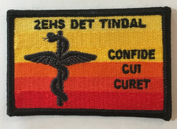2EHS Det Tindal  Uniform Patch