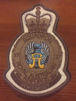 37SQN Desert Flying Suit Crest