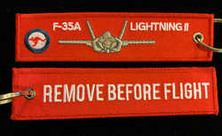 F-35A Lightning II Key Tag