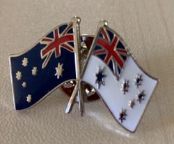 Australian Flag and Navy Ensign Pin
