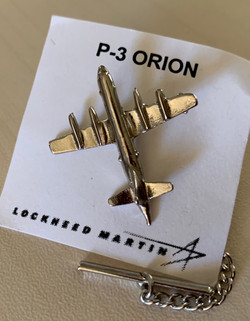 P-3 Orion Pin (silver)