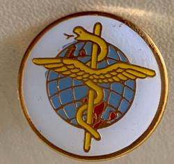 Medical Caduceus Pin