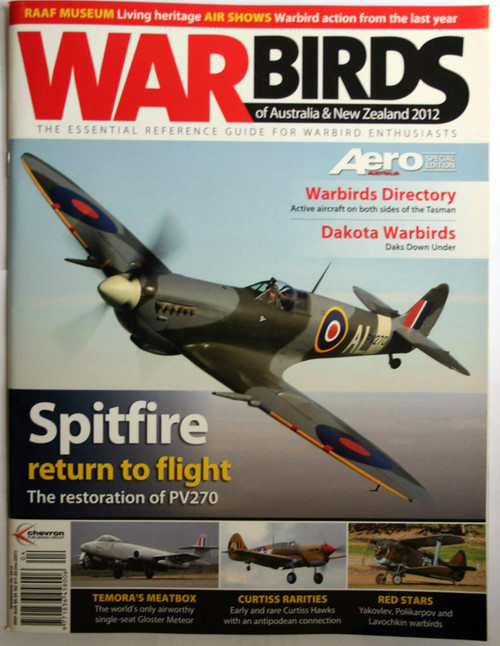 War Birds Australia New Zealand  2012 Magazine - Spitfire
