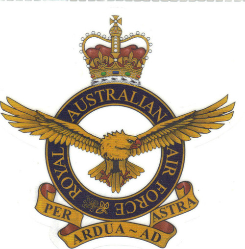 RAAF - Crest - Transfer Sticker
