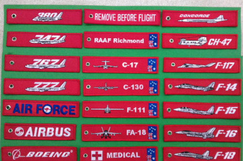 F-18 Remove Before Flight Key / Luggage Tag