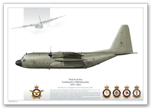 High Quality Limited  Print of 36 Sqn, A97-009  by Juanita Franzi