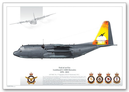 High Quality Limited  Print of 37 Sqn, A97-005 by Juanita Franzi