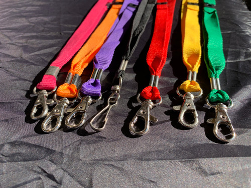 Lanyards with Safety Breakaway