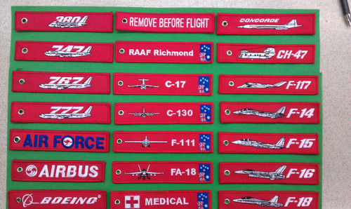 BOEING Key Tag - Remove Before Flight