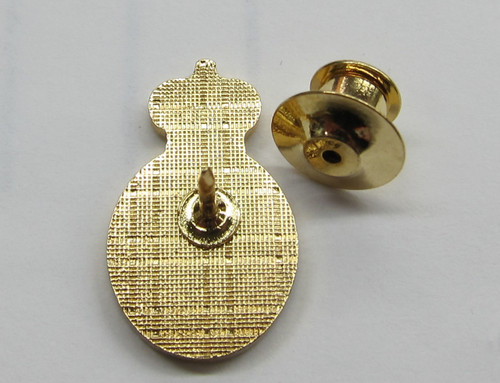 Navy Crest Lapel Pin