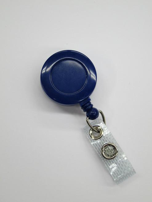 Blue ID Reel - Spring Clip
