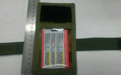 ID Holder Arm Band Velcro - Kahki