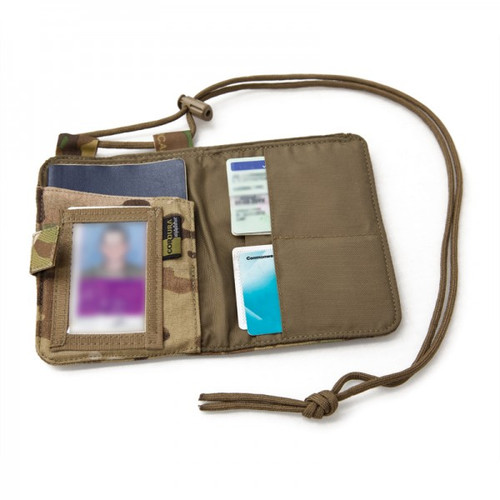 PLATATAC Border Hopper Passport Holder KAHKI