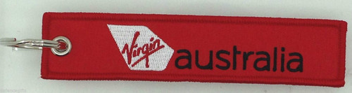Virgin Australia Key Tag - Remove Before Flight