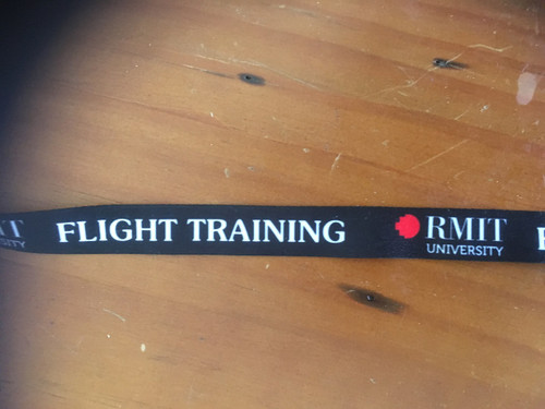 RMIT Flight Training Lanyard