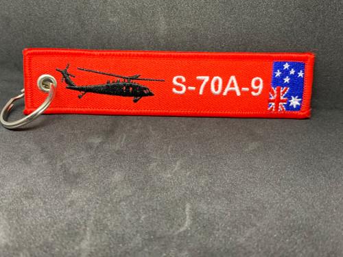 S-70A-9 Black Hawk Remove Before Flight - Key Tag