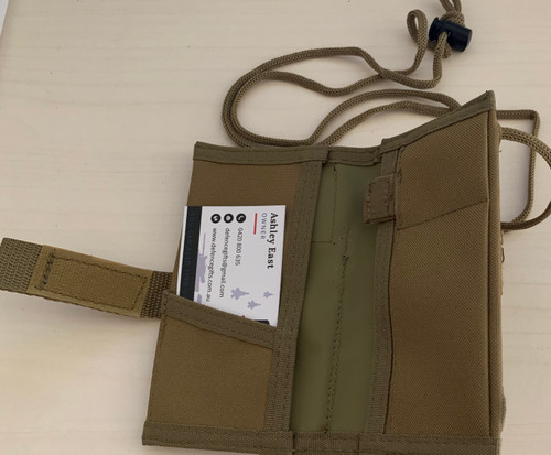 Notebook / ID Holder - Khaki