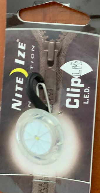 Nite Ize Clip Lit LED Keyring Light White
