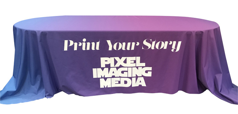 Trade Show Table Covers, Tablecloths, Runners & Throws