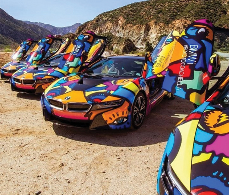 Exotic Vehicle Wrap