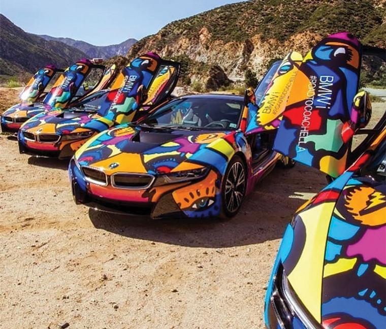 Exotic Vehicle Wrap